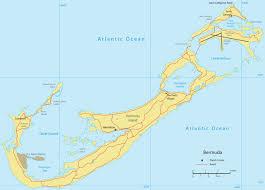 Hamilton Canada Map Map Of Bermuda Hamilton