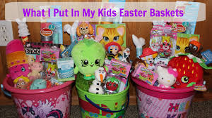 easter basket ideas 2016 youtube