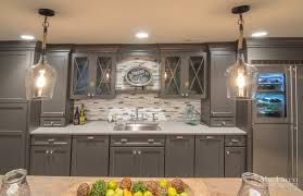Shabby Chic Kitchen Cabinet Shabby Chic Basement Remodel West Chester Pa Maclaren Kitchen