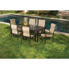Wicker Outdoor Furniture Sets by Cast Aluminum Patio Dining Furniture Patio Furniture The