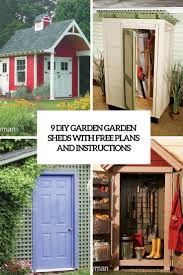 Diy Garden Shed Plans Free by 9 Diy Garden Sheds With Free Plans And Instructions Shelterness