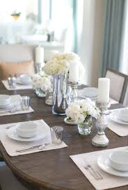 dining room artificial christmas centerpieces everyday table