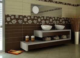 Colorful and decorative bathroom ceramic tiles