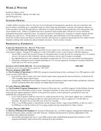 Writing A Summary For Resume Example Of Resume Objective Statement Example Of An Objective On