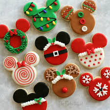 disney themed christmas cookies christmas cookies sugar