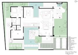 courtyard house plans custom contemporary modern with center and