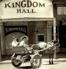 The photo dates from      the horse and buggy from an earlier era  The Kingdom