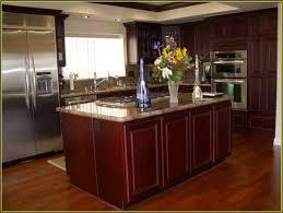 cherry cabinets golden oak kitchen cabinets granite ideas for