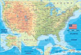 State Map United States by United States Physical Map Zoom Maps United States Physical Map