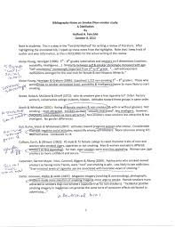 Example of a literature review   DOC