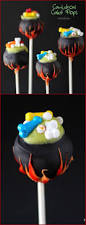 Fun Halloween Cakes Cauldron Cake Pops Recipe Cake Pop
