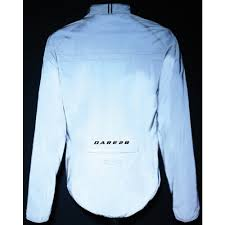 reflective bike jacket dare 2b observate mens reflective bike bicycle showerproof cycling