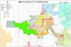 Payson Arizona Map by Planning And Zoning U2013 Payson