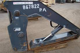 jrb pipe clamp grapple forks pipe pole dtcpf 106x60 for deere 544k
