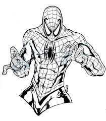 spiderman coloring pages fablesfromthefriends com
