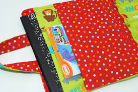 kids u0027 coloring book and crayon carrier tutorial