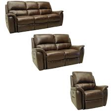 stylish brown leather recliner sofa best images about leather