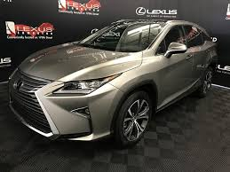 lexus atomic silver new 2017 lexus rx 350 4 door sport utility in edmonton ab l13726