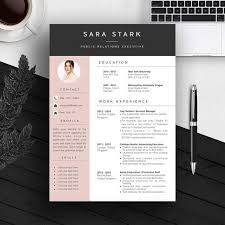 Resume   Cover Letter Template   Resume Templates on Creative Market