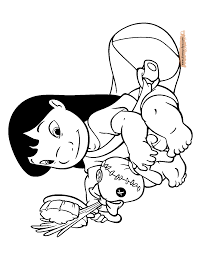 lilo and stitch printable coloring pages 2 disney coloring book