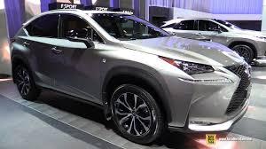 lexus jeep 2016 interior 2017 lexus nx 200t f sport exterior and interior walkaround