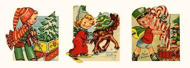 25 days of crafts vintage card ornaments tinselandtrim