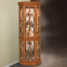 curio cabinet modern glass curio cabinet corner cabinets