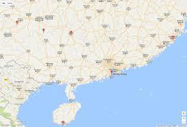 China Google Maps by Southern China Map Hong Kong Things To Do
