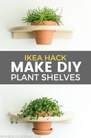 ikea frosta hack from stool to diy planter shelf u2022 grillo designs