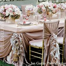Shabby Chic Wedding Reception Ideas by Wedding Tablescapes And Decor Pink Champagne Vintage Weddings