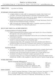 Skill Set Resume Examples by Functional Resume Example For Editing Susan Ireland