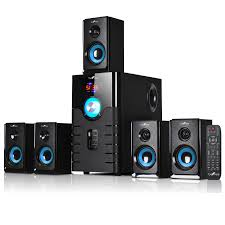 5 1 home theater system befree sound 5 1 channel surround sound bluetooth speaker system