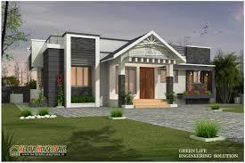 beautiful modern single floor house design kerala house plans