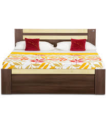 Cheap King Size Bed Sheets Online India Debono Woody King Size Storage Bed Buy Debono Woody King Size
