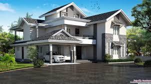Home Modern 5bhk Modern Sloping Roof Kerala Villa Design Places To Visit