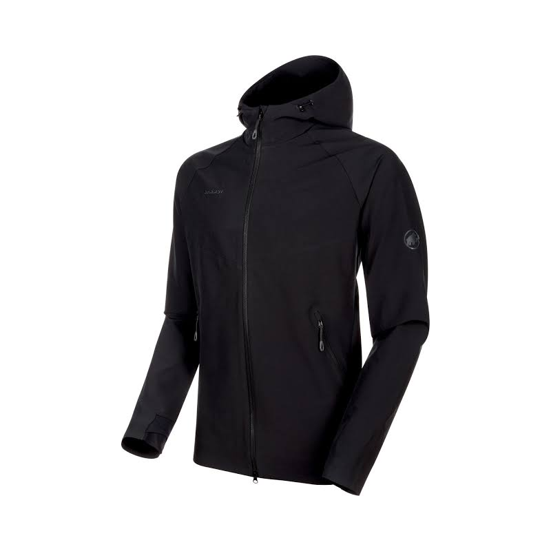 Mammut Macun SO Hooded Jacket Black Small 1011-00500-0001-113
