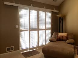 plantation shutters for sliding glass doors patio u2014 home ideas