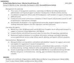 Ex Military Resume Examples by How Should I Address My Military Experience On My Resume The