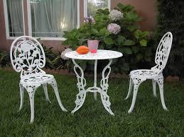 Cast Iron Patio Set Table Chairs Garden Furniture - amazon com outdoor patio furniture 3 piece cast aluminum bistro