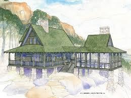 Log Cabin With Loft Floor Plans Log Home Plans At Dream Home Source Log Home And Cabin Floor Plans