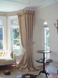 window treatments curtain ideas for big windows white ivory