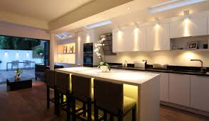 Track Lighting For Kitchens by Awesome Kitchen Lighting With Pendant Light And White Tile 3802