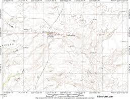 Lake Powell Map Trachyte Falls Trachyte Creek Hiking