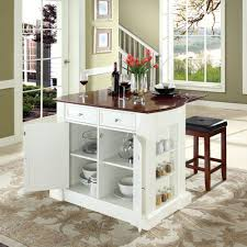 island square kitchen island with seating