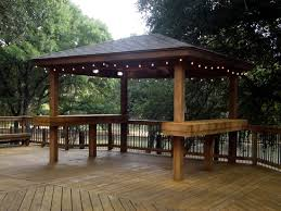 Custom Gazebo Kits by Custom Gazebos San Antonio Tx J R U0027s Custom Decks