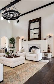 45 wonderful white walls interior ideas living rooms spanish