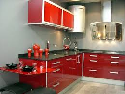 Red And Black Kitchen Ideas Kitchen Interesting Compact Kitchen With Red Kitchen Cabinet And