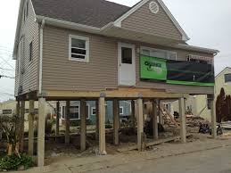 Raised Beach House by Tips Solve Flooding And Hurricane In Beach Home Plans 10 Of 10