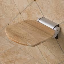 Teak Floor Mat Solid Teak Folding Shower Seat Bathroom
