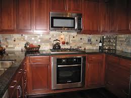 Kitchen Backsplash Tiles Toronto Beige Kitchen Backsplash Tile Combined With Wooden Cabinets And